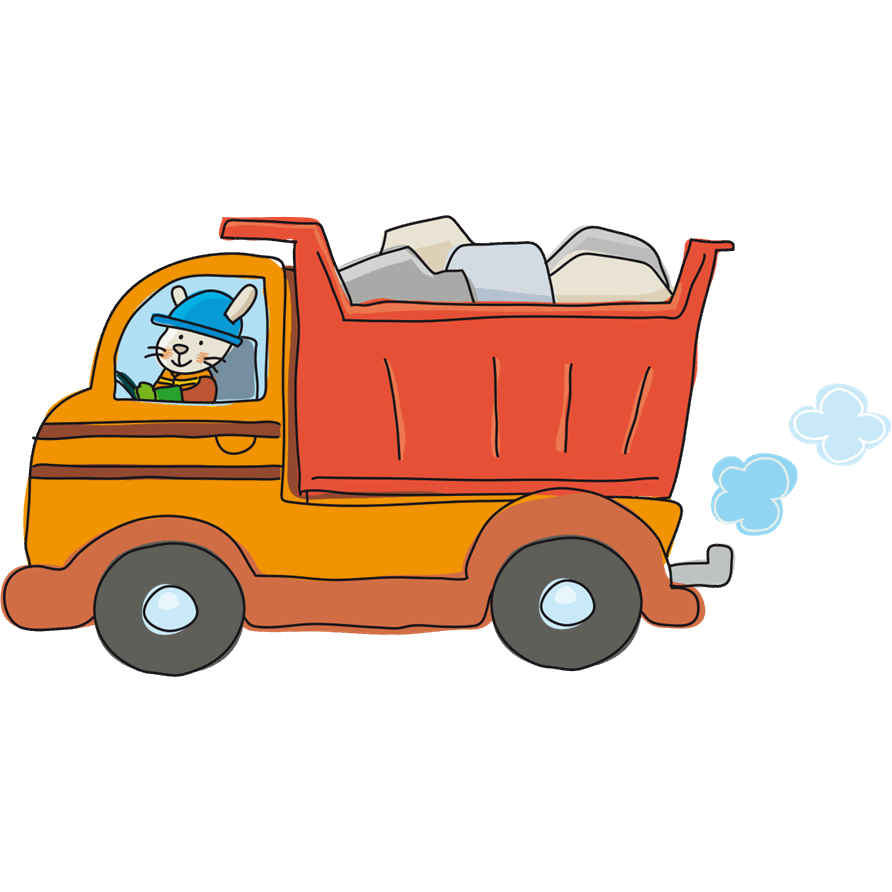 Adesivi murali camion leostickers for Planner cameretta